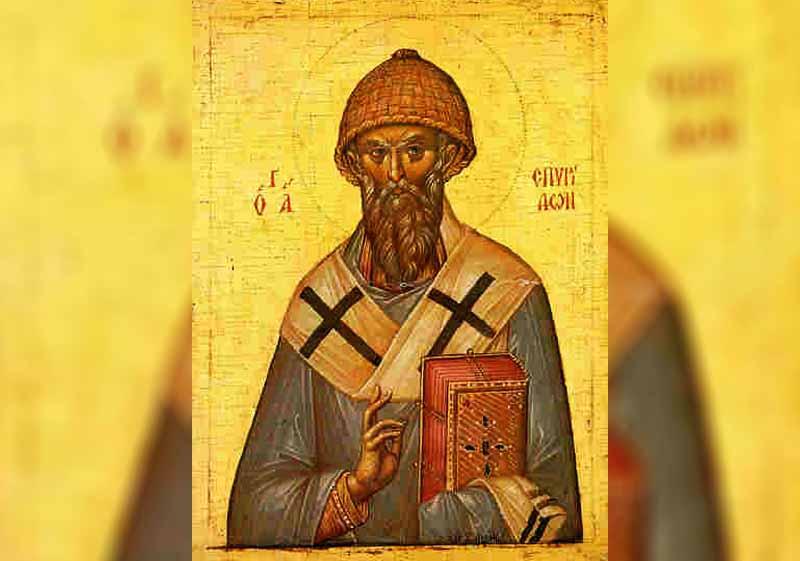 12 Декември - Св. Спиридон, еп. Тримитунтски чудотворец - информация за празника и кой празнува