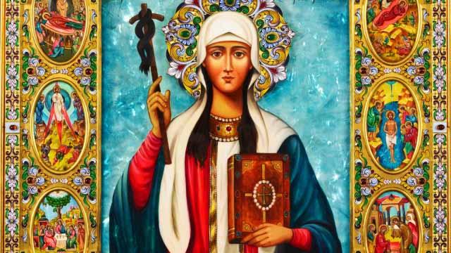14 Януари - Преп. отци, избити в Синай и Раита. Св. Нина (Отдание на Богоявление)