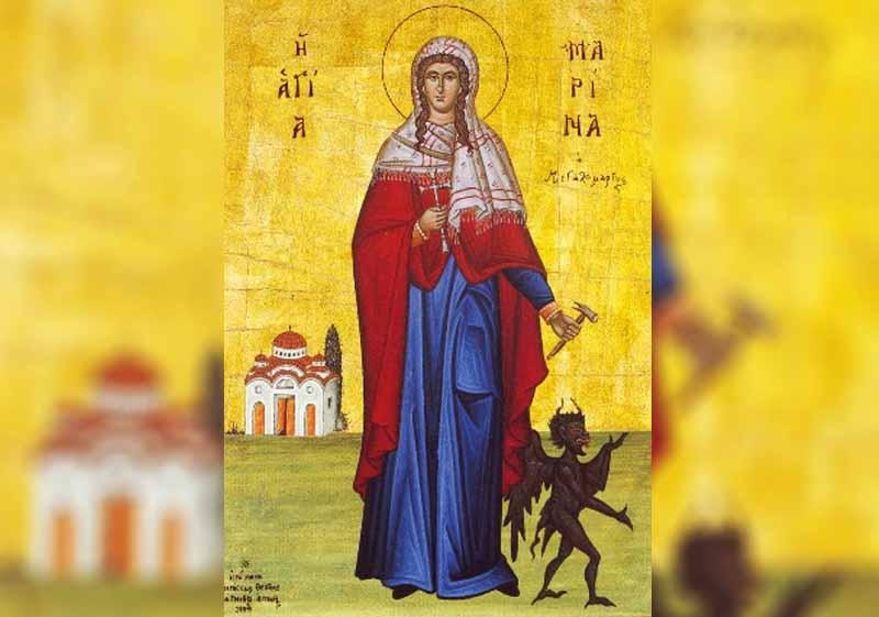 17 Юли - Св. вмчца Марина - информация за празника и кой празнува