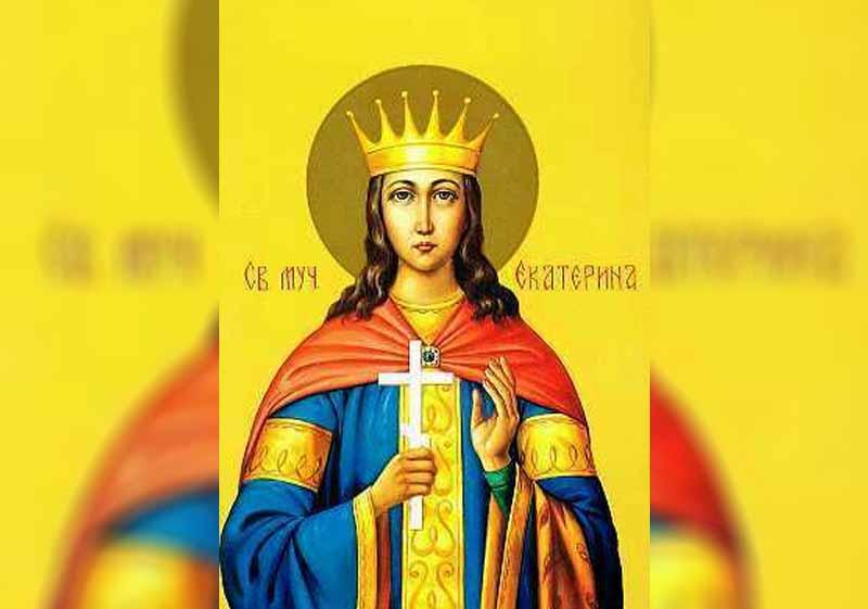 24 Ноември – Св. вмчца Екатерина, Св. вмчк Меркурий (Катерининден) - информация за празника и кой празнува