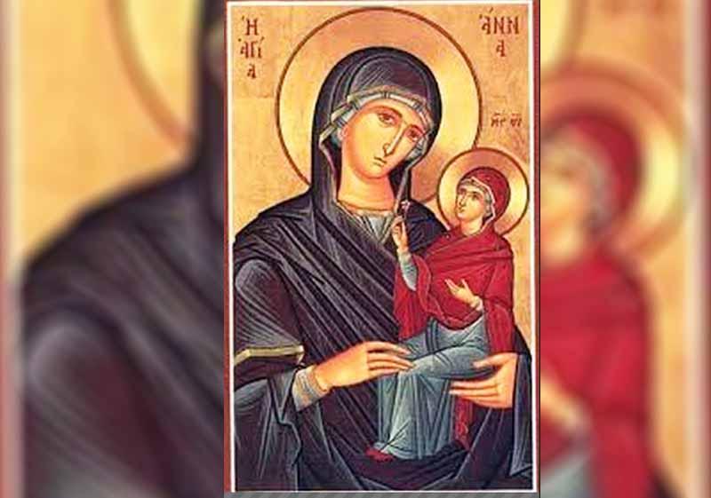 25 Юли - Успение на св. Анна, Св. дякониса Олимпиада и Евпраксия Девица - информация за празника и кой празнува