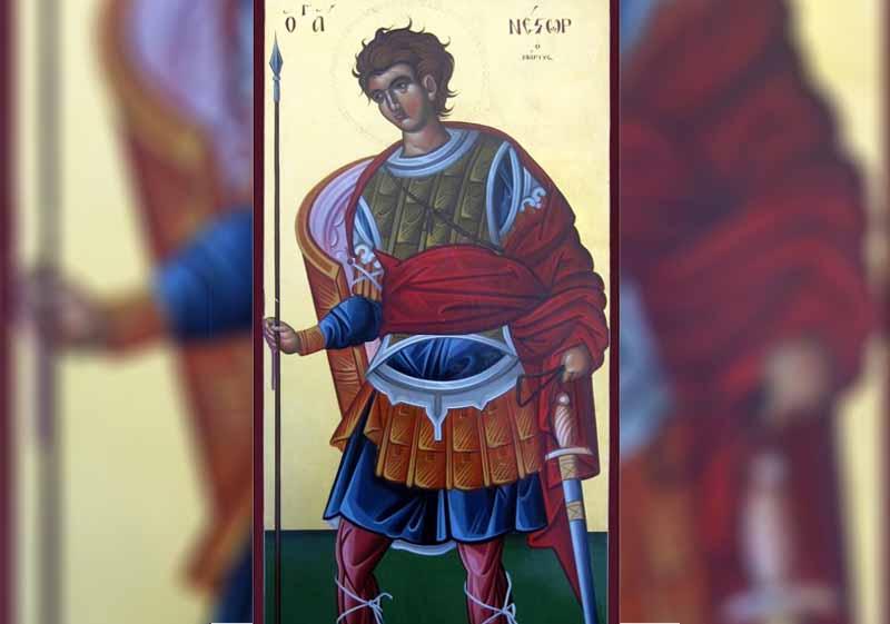 27 Октомври - Св. мчк Нестор, Преп. Димитрий Басарбовски - информация за празника и кой празнува