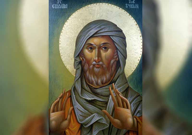 28 Януари - Св. преподобни Ефрем Сириец. Св. преподобни Исаак Сириец, еп. Ниневийски. Преп. Паладий