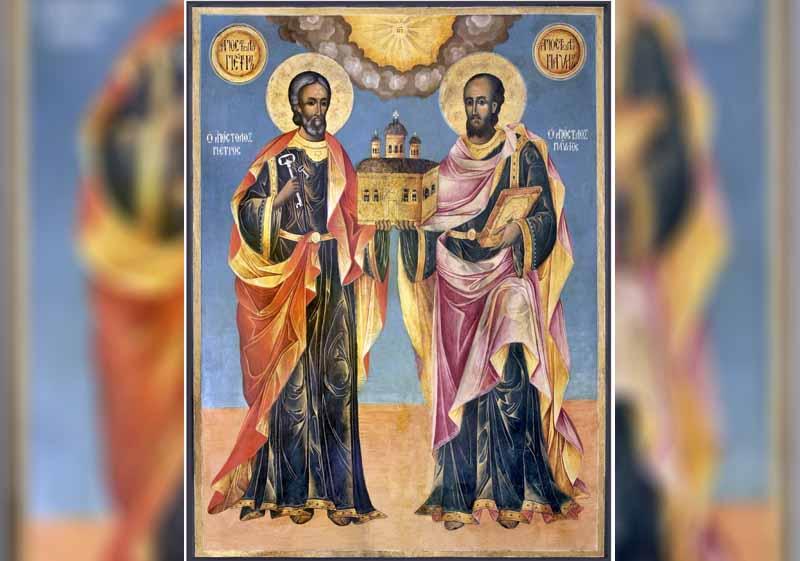 29 Юни - Свети апостоли Петър и Павел (Петровден) - информация за празника и кой празнува