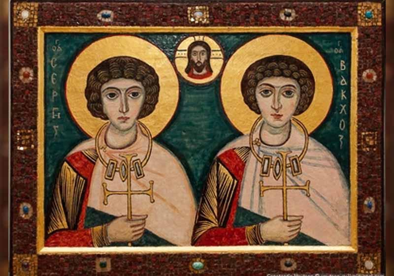 07 Октомври - Св. мчци Сергий и Вакх - информация за празника и кой празнува