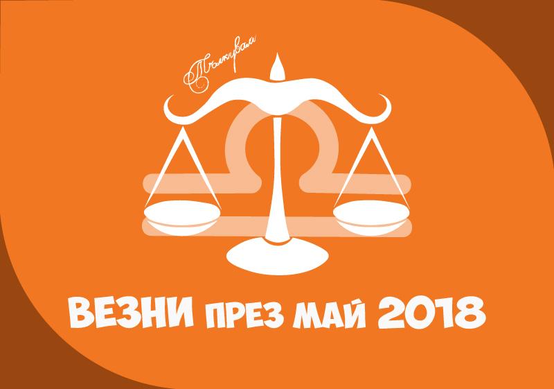 Хороскоп за Зодия Везни през месец Май 2018