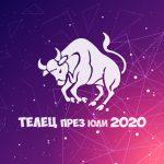 Хороскоп за Зодия Телец през месец Юли 2020